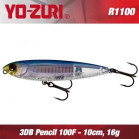 YO-ZURI 3DB PENCIL 10 CM F