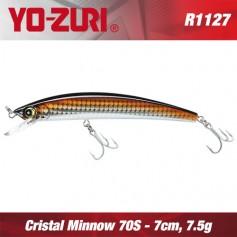 YO-ZURI CRYSTAL MINNOW 7CM - 7,5GR / SINKING