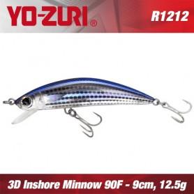 YO-ZURI 3D INSHORE MINNOW 9CM - 12,5GR /FLOATING