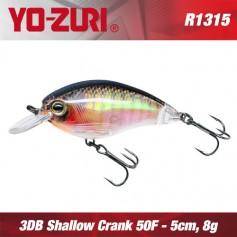 YO-ZURI 3DR SHALLOW CRANK 5CM - 8GR/ FLOATING