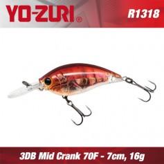 YO-ZURI 3DR MID CRANK 7CM - 16GR/ FLOATING