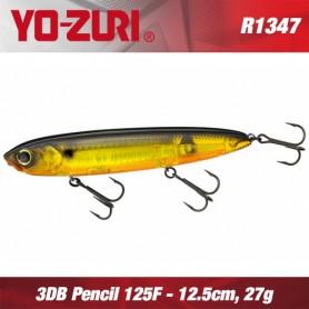 YO-ZURI 3DB PENCIL 12.5CM - 27GR / FLOATING