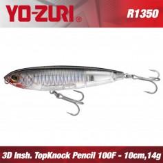 Yo-Zuri 3D Inshore TopKnock Pencil 10CM/18GR - Floating