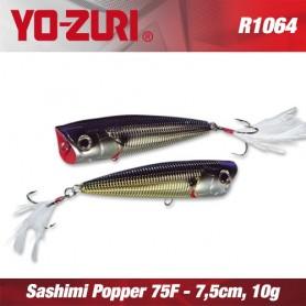 YO-ZURI SASHIMI POPPER 7,5cm FLOATING