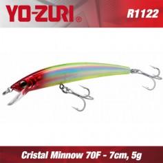 YO-ZURI CRYSTAL MINNOW 7cm FLOATING