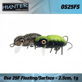 HUNTER OSA VOBLER  25MM 1G/FLOATING - SURFACE