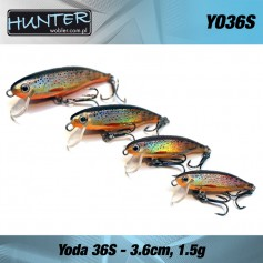 HUNTER YODA 3.6CM/1.5GR - SINKING