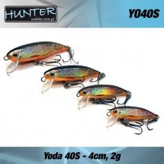 Vobler Pastrav, HUNTER YODA, 4cm/2g, Sinking