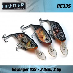 HUNTER REVENGER 3.3CM/2.5GR - SINKING