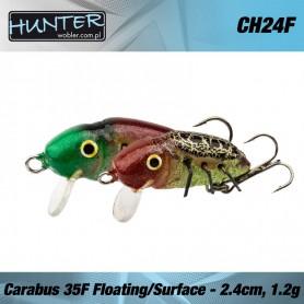 HUNTER CARABUS VOBLER 24MM 1.2GR/FLOATING - SURFACE