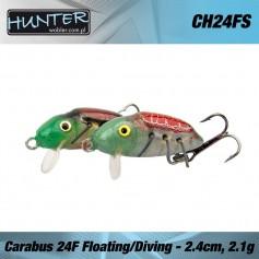 HUNTER CARABUS VOBLER 24MM 1.2GR/FLOATING - DIVING