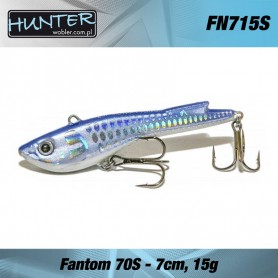 HUNTER FANTOM 7CM/15GR - SINKING