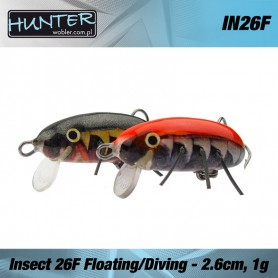 INSECT 2.6cm 1gr FLOATING - DIVING