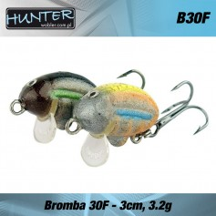 VOBLER CLEAN HUNTER BROMBA 30mm 3.2gr - FLOATING