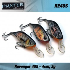Vobler Clean Hunter Revenger 4cm / 3gr - sinking