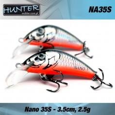 HUNTER NANO 3.5CM/2.5GR - SINKING
