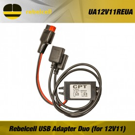 Rebelcell USB Adapter Duo (for 12V11)