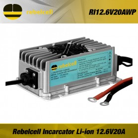 Rebel-cell Incarcator Baterie 12.6V20A Waterproof