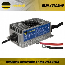 Rebel-cell Incarcator Waterproof Baterie 29.4V12A Li-ion