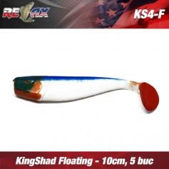 King Shad 10cm Floating Relax (10buc/plic)