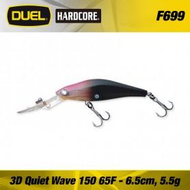 Duel 3D Quiet Wave 150 - 6,5 cm floating
