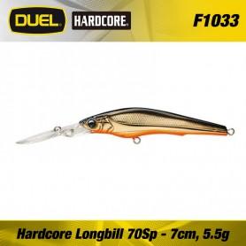 Duel Hardcore Longbill 7 CM Suspending