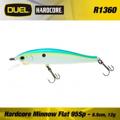 HARDCORE MINNOW FLAT 95SP 95mm
