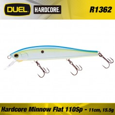 HARDCORE MINNOW FLAT 70F 70mm