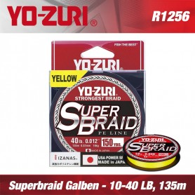 Fir textil Superbraid Yo-Zuri 135m Yellow