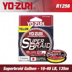 Fir textil Superbraid Yo-Zuri 135m Yellow