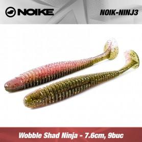 Noike Wobble Shad Ninja 7.6CM (9buc/plic)
