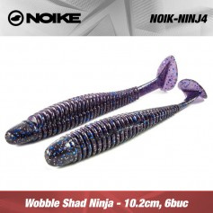 Noike Wobble Shad Ninja 10.2CM (6buc/plic)