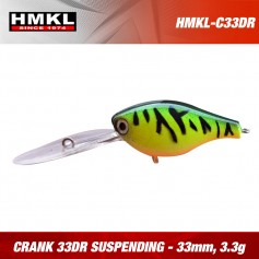 Crank 33DR HMKL  Suspending 3.3g (1buc/pac)