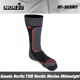 Norfin Sosete T3M Nordic Merino Midweight