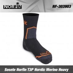 Norfin Sosete T3P Nordic Merino Heavy