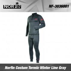 Norfin Costum Termic Winter Line Gray