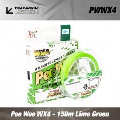 Fir Textil Pee Wee WX4 - 150m Lime Green