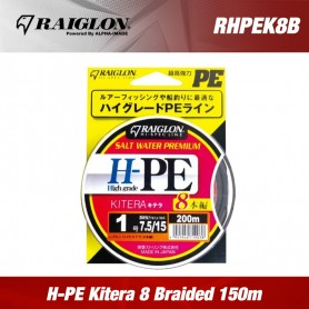 Raiglon H-PE Kitera 8 Braided 150m