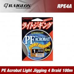 Raiglon PE Acrobat Light Jigging 4 Braided 100m