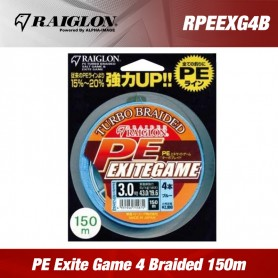 Raiglon PE Exite Game 4 Braided 150m