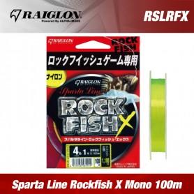 Fir Monofilament Raiglon Sparta Line Rockfish X 100m