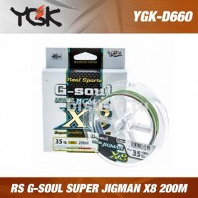 YGK RS G-SOUL SUPER JIGMAN X8 200M