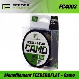 Fir Feeder Concept monofilament line FEEDER&FLAT Camo