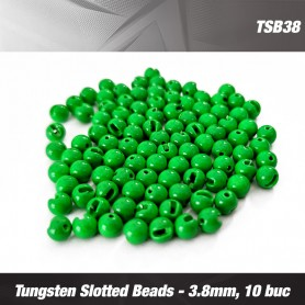 TUNGSTEN SLOTTED BEADS 2.8MM