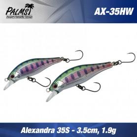 PALMS Vobler Alexandra 3.5 gr & 1.9gr Sinking