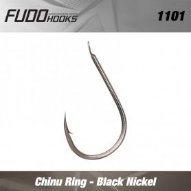 Carlige Fudo Chinu Ring , Black Nickel