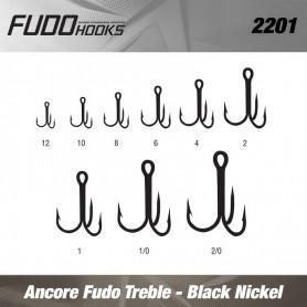 Ancore Fudo Treble , Black Nickel