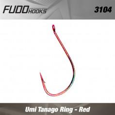 Carlige Fudo Umi Tanago Ring , Red