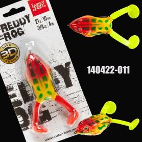 Lucky John 3D FREDDY FROG V-Leg 10cm 21g