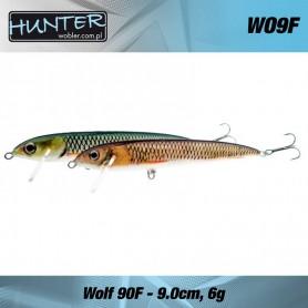 Vobler Salau Hunter Wolf  9cm / 6g Floating